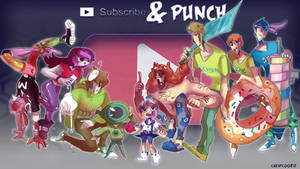 [S-P] All the characters/ fighters by Cheapcookie