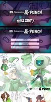 [S-P] Start menu /characters /bonus shop by Cheapcookie