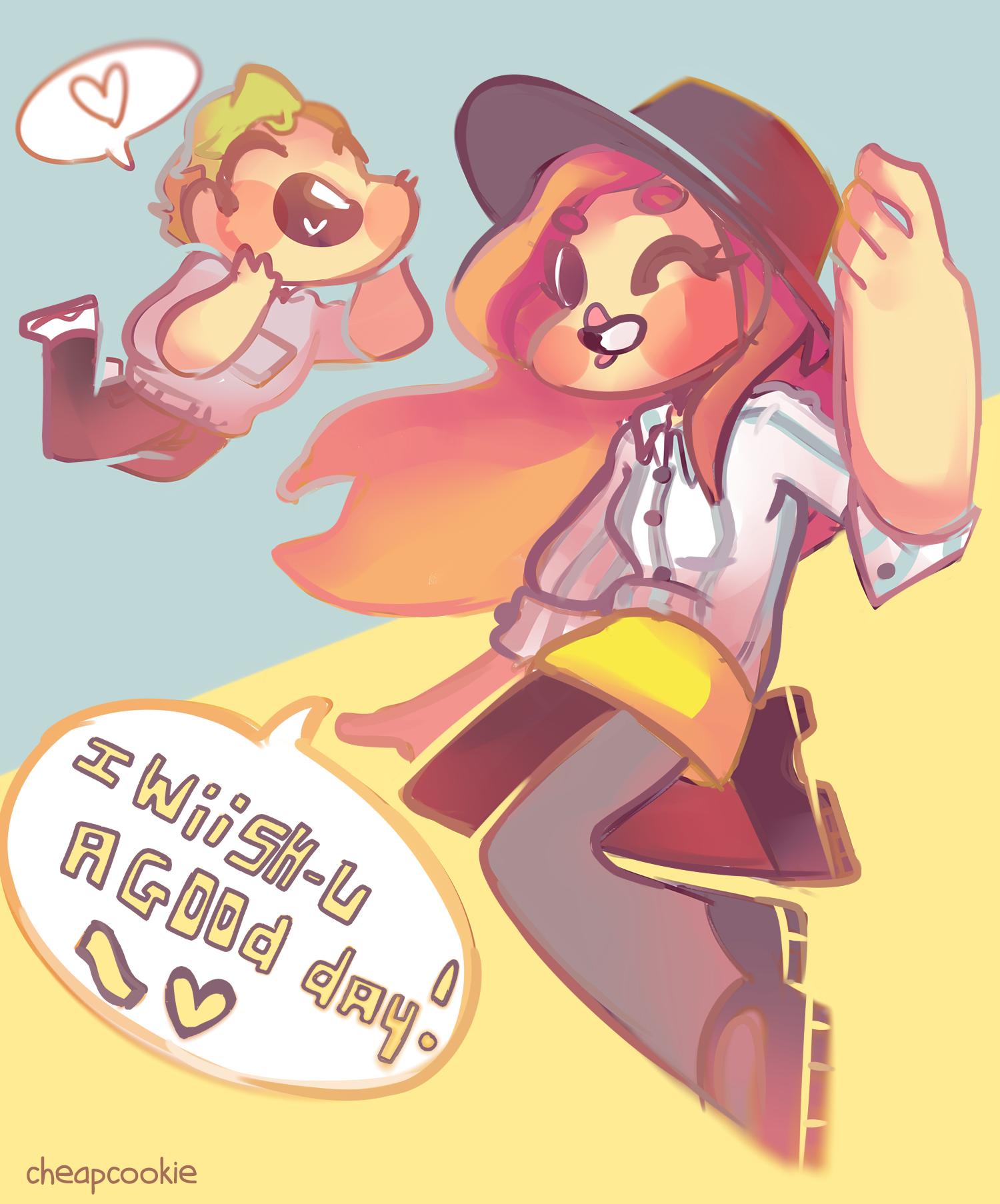 I Wiish-u a good day ! by Cheapcookie