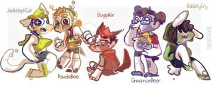 Animal! Youtubers by Cheapcookie