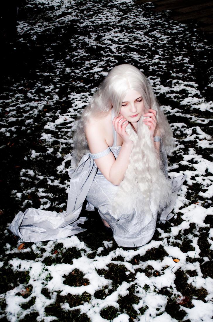 Frozen  Dragon. by MikkiCrossCC