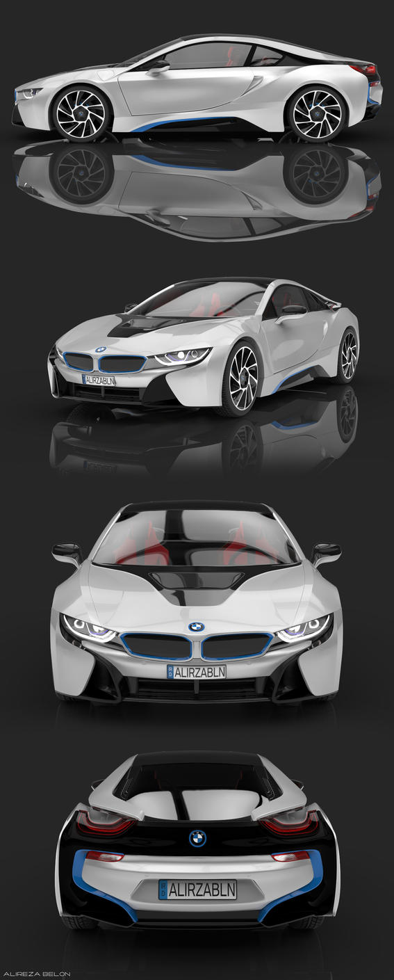 BMW I8 3D Design By Asdesz1 ...