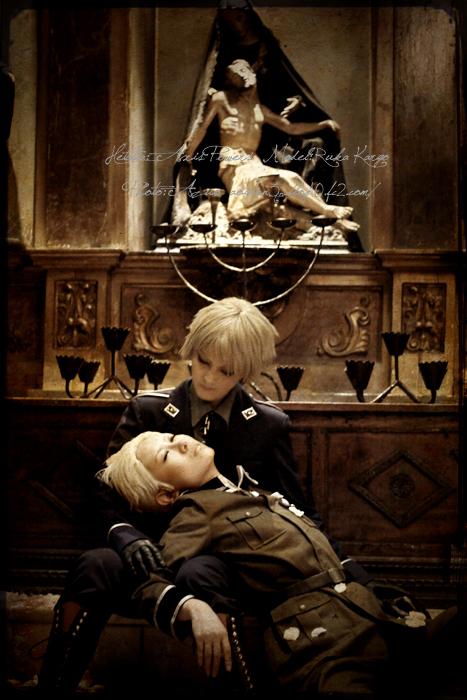 hetalia::Prussia Germany by azuooooo