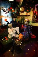 Hetalia Happy Halloween by azuooooo