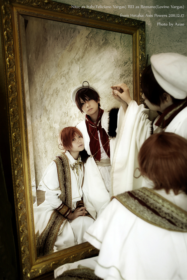 Hetalia:Italy and Romano by azuooooo