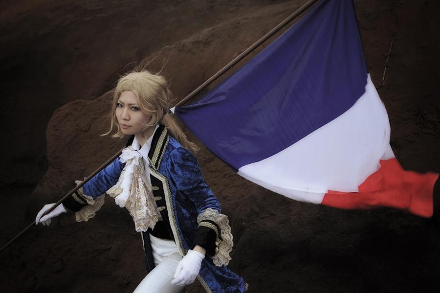 Hetalia:France3 by azuooooo
