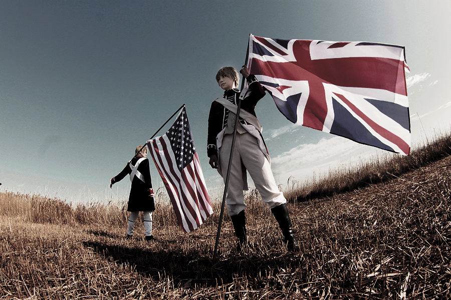 Hetalia Independence American Revolution 8 by azuooooo