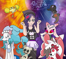 Planned Pokemon Moon Team!! by StarStorm295