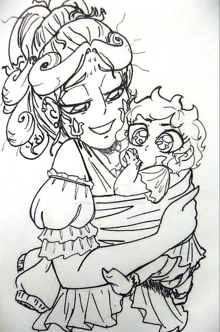 Lyric and baby skywynne 1 by universeMadeofArt