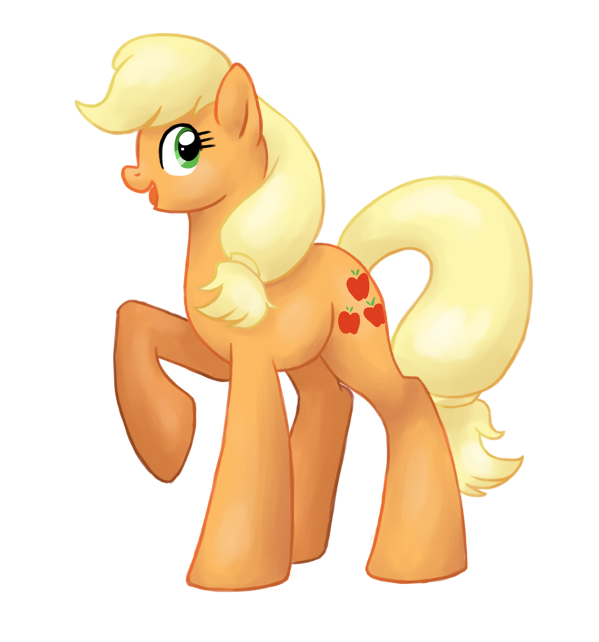 Painted Applejack by catlover1672