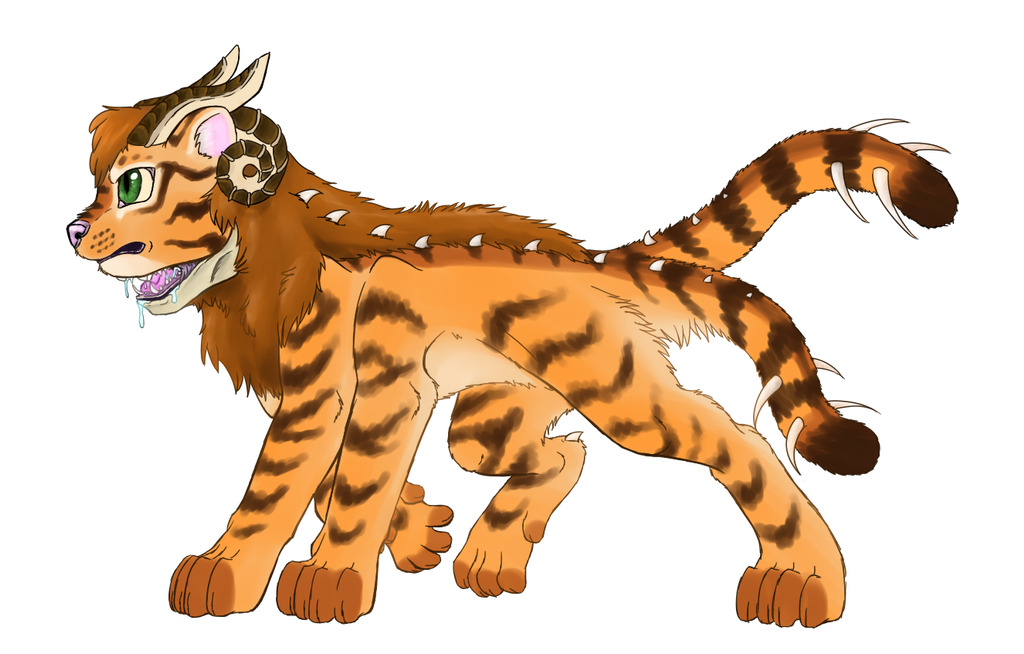 Tiger monster by catlover1672