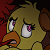 Scared Chica Icon