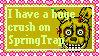 SpringTrap is my Crush Stamp by Vieiragmx