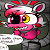 Embarrassed Mangle is Embarassed (Chat Icon)
