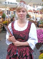 A Waitress in Warsaw by tahirlazim