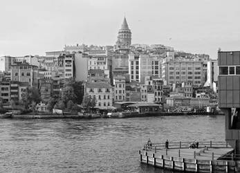Istanbul. A View to Karakoy and Galata by tahirlazim