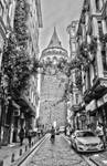 Going to Galata Tower, Istanbul