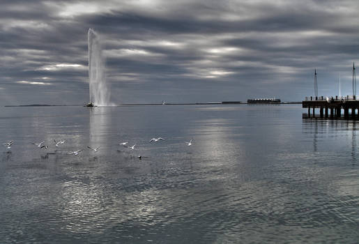Cloudy Day in Baku