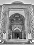 Entrance to the Imamzade Mosque. Ganja, Azerbaijan