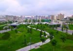 Morning of Late Spring 2019. Baku