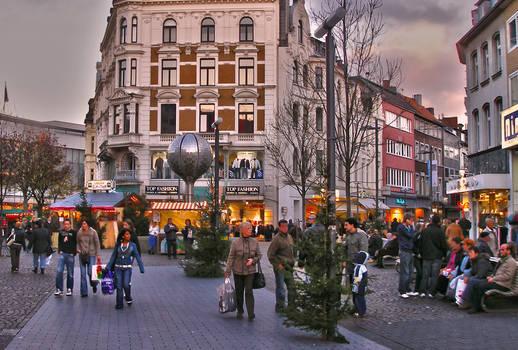 Sunset in Aachen