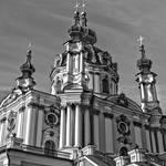 St Andrew's Church, Kiev. Close-up