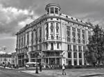 By the Hotel Bristol. Warsaw