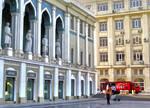 Morning in the City. Baku