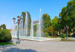 Morning in the Park. Baku