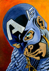 captain america 1 by illuposolitario