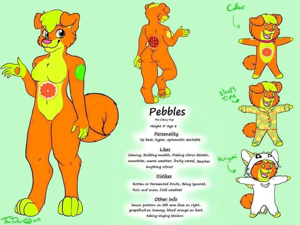 Pebbles Perfect reference by TrinityWolamute