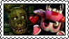 Springtrap x Mangle Stamp by Steph-Fox
