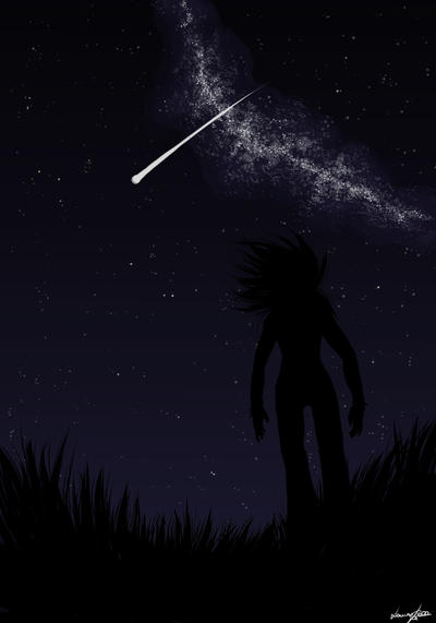 shooting star by Lilith-the-5th