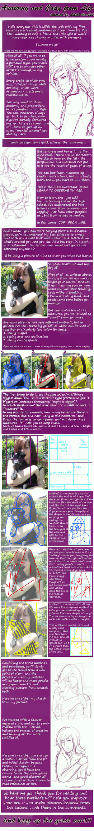 Tutorial: my Tips about Copy from Life by Lilith-the-5th