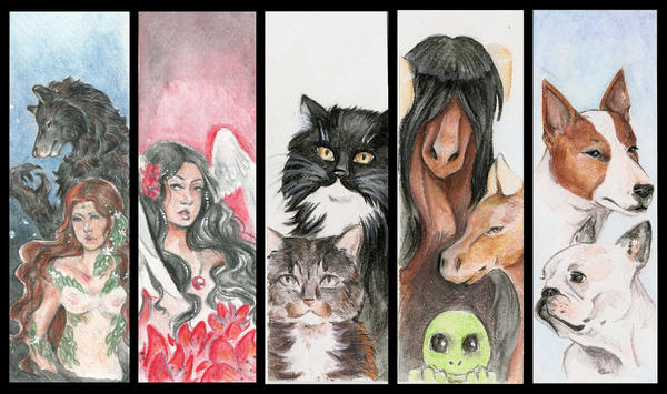 Traditional Bookmarks by Lilith-the-5th