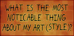 the most noticeable thing about my art by Lilith-the-5th