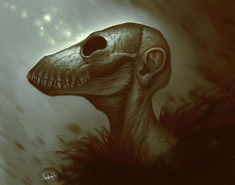 dead face by dirtyandbroken Dead Face