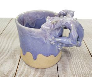 Purple Lizard mug