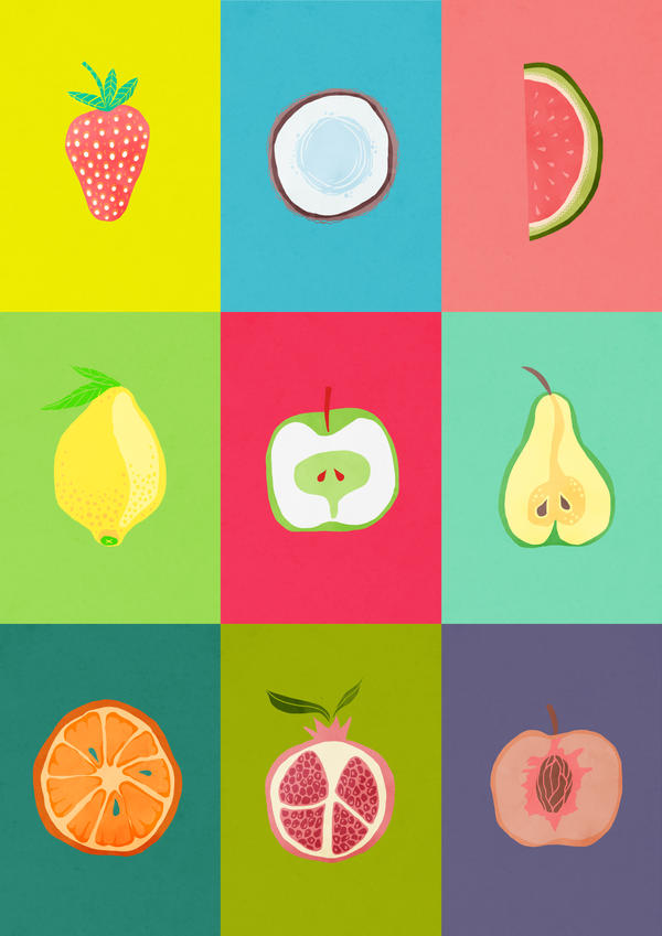 Fruits by Minelo
