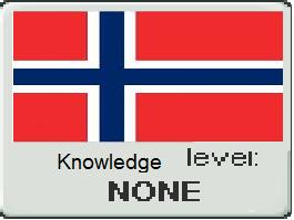 Knowledge level- Norway 1 by vampyremisa