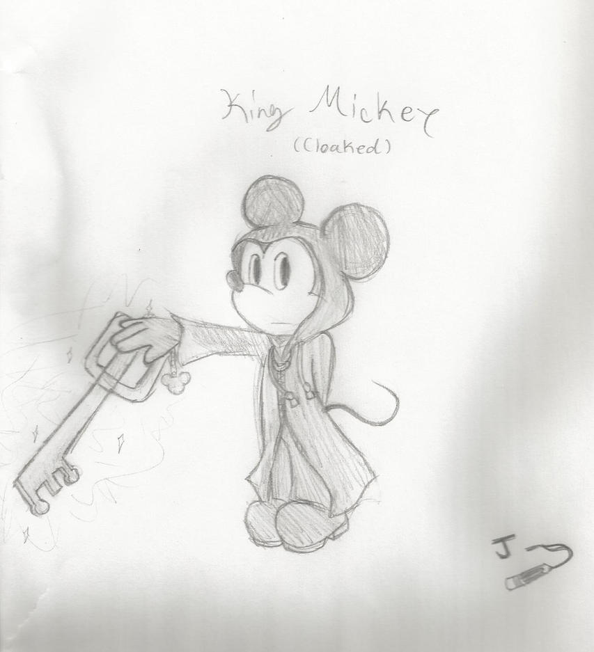 King Mickey (Cloaked) by JunetheFox9891