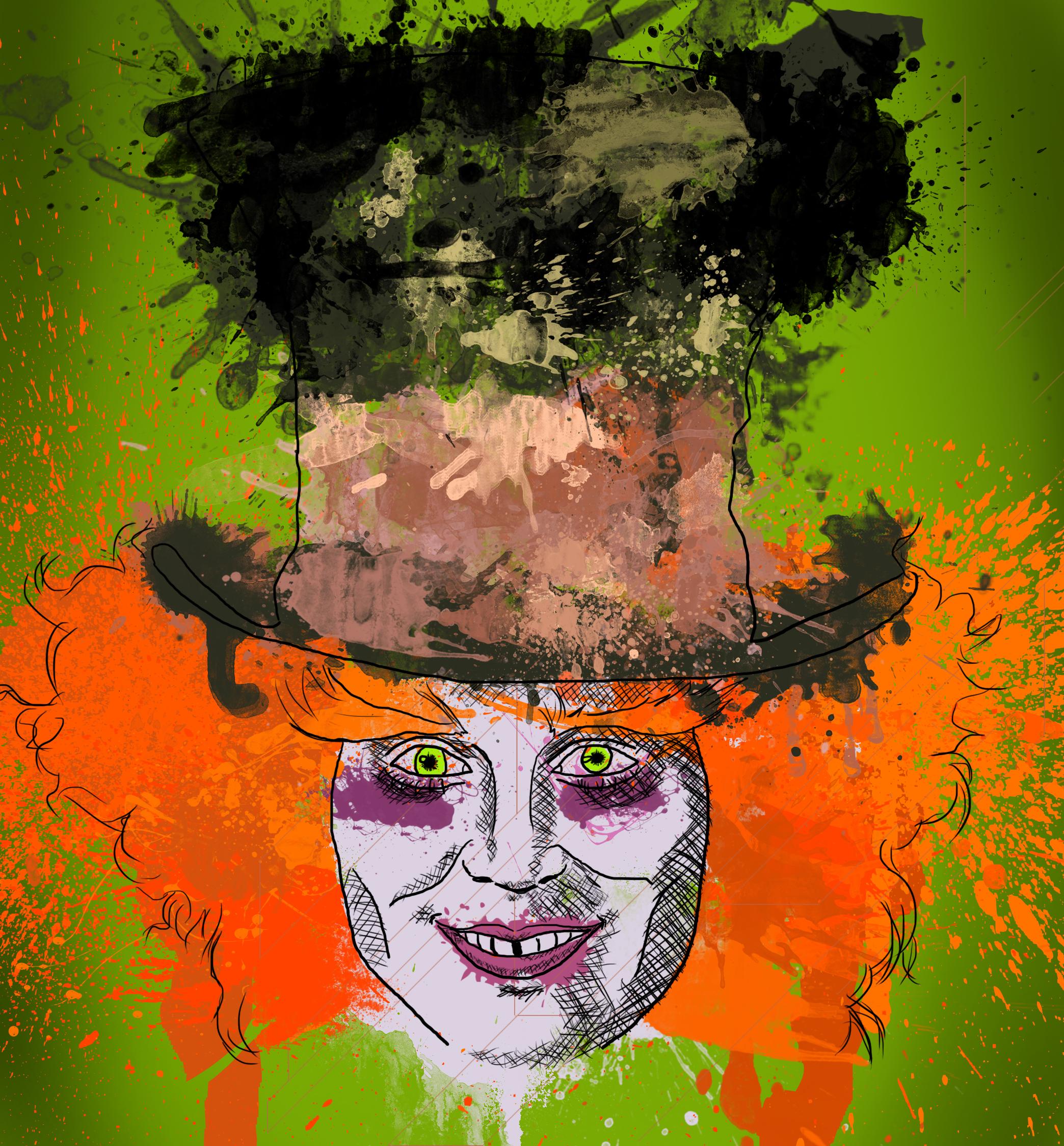 Mad Splatter by gurlsluvchocolate