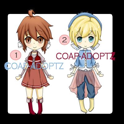 Adoptables # 6 [OPEN] (1/2) by coap-adoptz