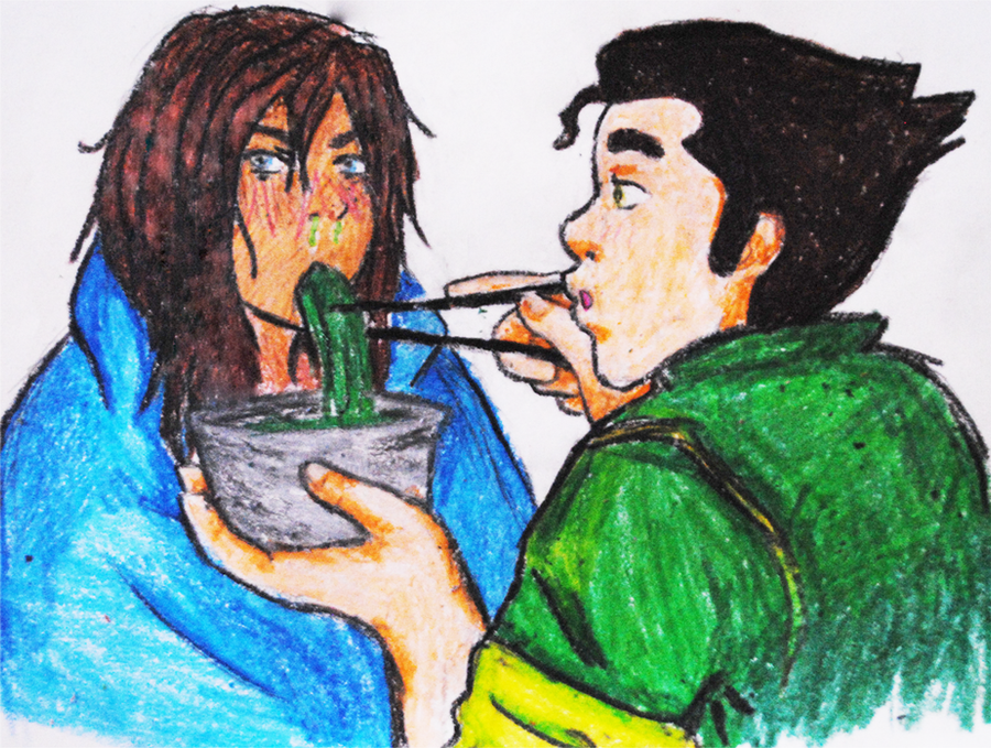 Borra Week: Day One - Day Off by PopsicleAddiction