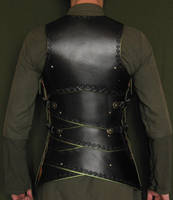 Embossed leather armour
