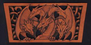 Dragon wristband 2 by Fantasy-Craft