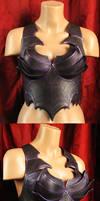 Leather female drow armour x 5