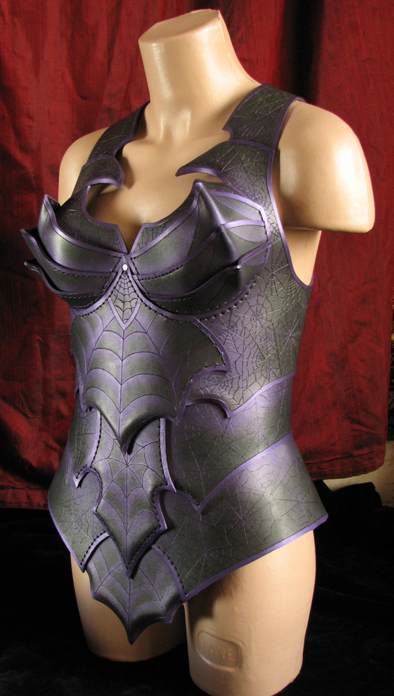 Female Leather Drow  Armour by Fantasy-Craft