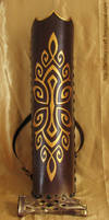 Quiver and archery glove