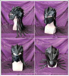 Leather Helmet by Fantasy-Craft